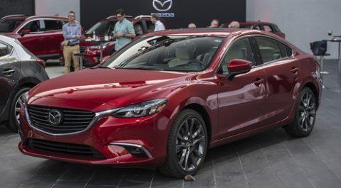 Ô tô Mazda6 2017 mới công nghệ vào cua ổn định