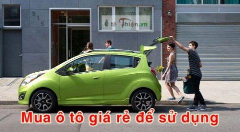Mua ô tô giá rẻ tầm 300 triệu đồng che mưa, che nắng Sài Gòn