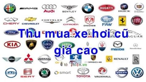 Chuyên thu mua ô tô cũ với giá cao tại TP HCM. Mua bán xe hơi