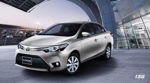 Toyota Vios 2016 thay động cơ mới sau 10 năm