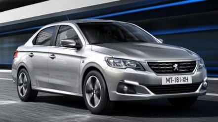 Sedan Peugeot 301 nâng cấp toàn diện