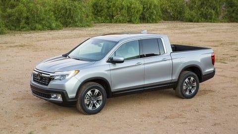 Honda Ridgeline 2017 nhận thành tích xe bán tải an toàn nhất