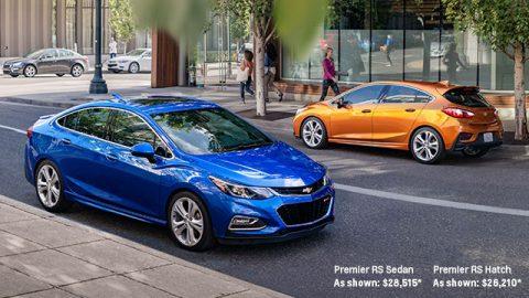Ô tô sedan Chevrolet Cruze máy dầu- diesel 2017 chỉ tốn 4,52 lít/100km