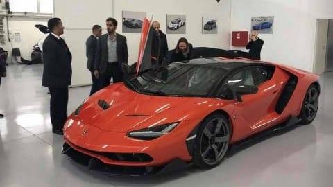 32 tuổi sở hữu siêu xe Lamborghini Centenario Coupe