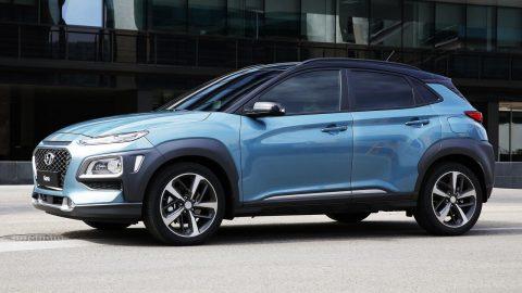 Hyundai KONA chạy điện, đi 380km/ lần sạc