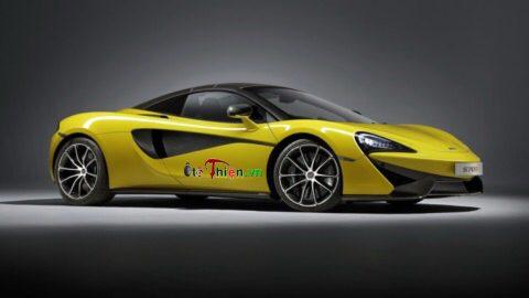 Siêu xe McLaren 570S Spider 570 mã lực, đã có thể đặt hàng