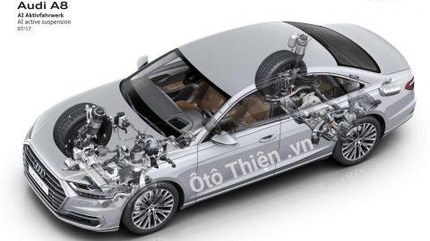 Audi A8 2018 thiết kế mới, trang bị nhiều công nghệ