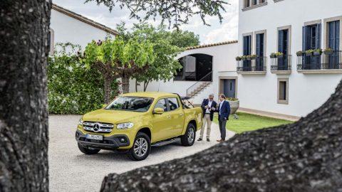 Xe bán tải hạng sang Mercedes-Benz X-Class trình làng