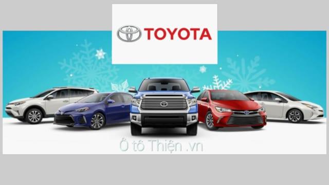 Chuyên thu mua xe ô tô thương hiệu Toyota đã qua sử dụng.