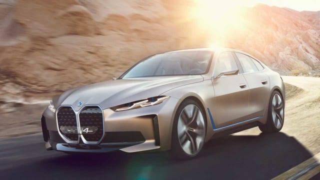 Xe hơi điện BMW i4  sẽ bán ra vào năm 2021