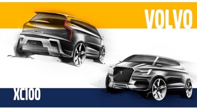Volvo XC100 sắp ra mắt cạnh tranh Lexus LX570, BMW X7, Mercedes-Benz GLS