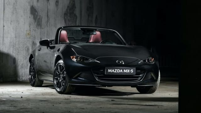 Xe mui trần Mazda MX-5 Eunos Edition chỉ sản xuất 110 chiếc