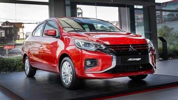 Sedan Mitsubishi Attrage 2020 giá từ 375 triệu đồng