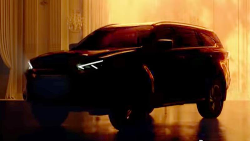 Ô tô 7 chỗ SUV Isuzu Mu-X 2021 hoàn toàn mới sắp ra mắt