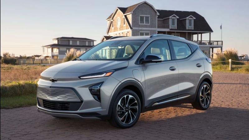 General Motors giới thiệu xe điện Bolt EUV 2022 và hatch back Bolt EV 2022