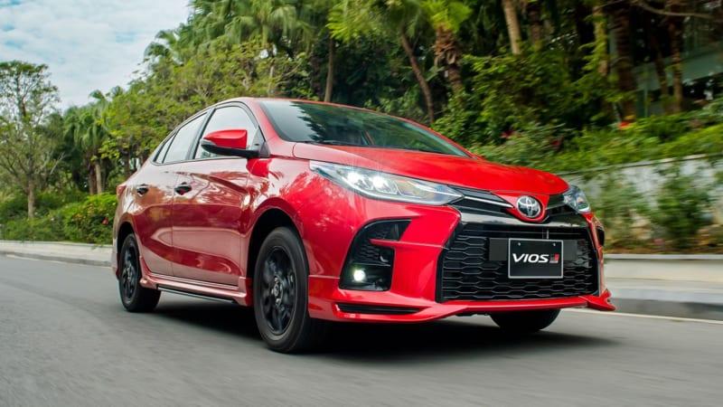 Sedan Toyota Vios 2021 mới, thêm phiên bản GR-S định lấy lại ngôi vương?